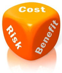 Cost Risk benefit